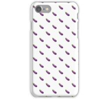 Eggplant Emoji Pattern iPhone Case/Skin