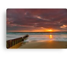 """Dawn Surge"" Canvas Print"