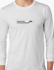 Powered by #activatedalmonds Long Sleeve T-Shirt