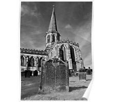 All Saints Church,Bakewell. Poster