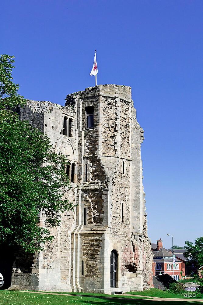 Newark Castle, in Newark by ANDREW BARKE