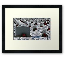 An Arlington Christmas Framed Print