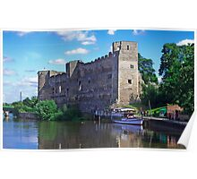 Newark Castle, in Newark Poster