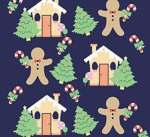 Gingerbread man & gingerbread house #2 by simplepaperplan