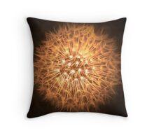 Dandelion Flame Throw Pillow