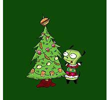 Christmas Gir Photographic Print