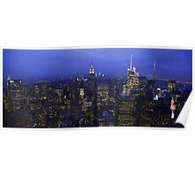 Lights of Manhattan Poster