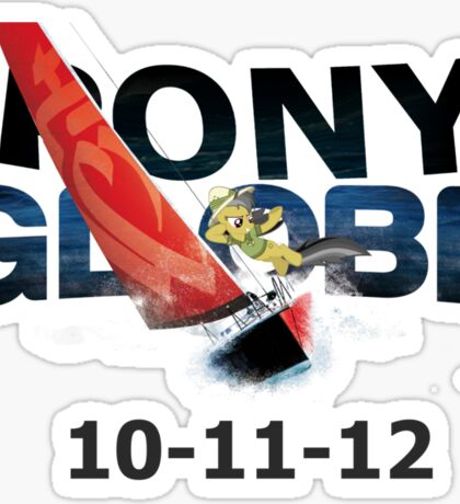 Pony Globe '12 Sticker
