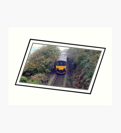 """"""" The most Picturesque rail trip in the UK"""" Art Print"""