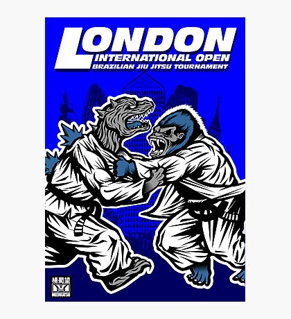 King Kong v Godzilla Photographic Print