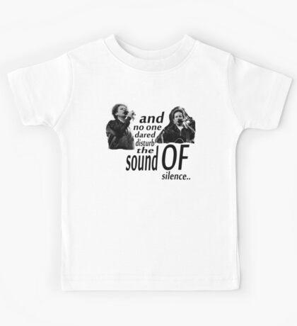 Simon & Garfunkel-The Sound Of Silence Kids Tee