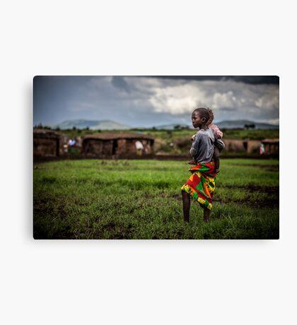 Mara children Canvas Print