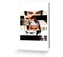 Ian Somerhalder's Eyes! Greeting Card