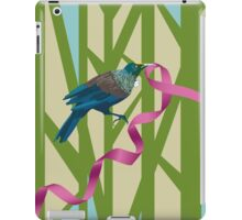 Tuis on a Tree with Pink Ribbon iPad Case/Skin