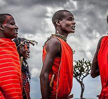 Masai People by Gavin Poh