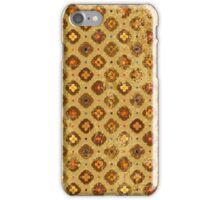 Floral Grunge Pattern  iPhone Case/Skin