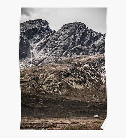 The Black Cuillins, Isle of Skye Poster