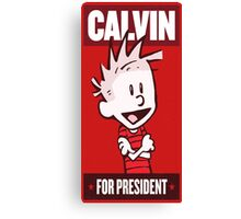 Calvin Canvas Print