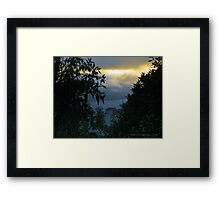 Pacific  Framed Print