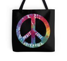 Peace, Love, Rock N' Roll Tote Bag