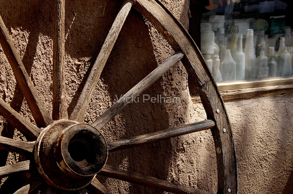 Stepping Back in Time by Vicki Pelham