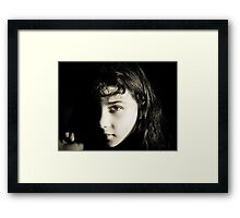 My Brown-Eyed Girl Framed Print
