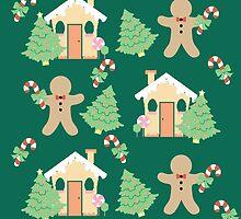 Gingerbread man & gingerbread house #5 by simplepaperplan