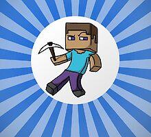 Minecraft Steve by Design4You