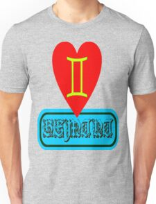 ۞»★Star Sign-Gemini Clothing & Stickers★«۞  Unisex T-Shirt