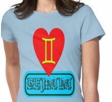 ۞»★Star Sign-Gemini Clothing & Stickers★«۞  Womens Fitted T-Shirt