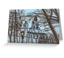 cadman plaza park Greeting Card