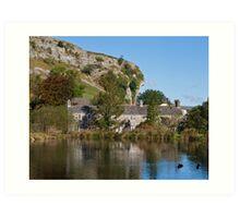 Kilnsey Crag, Yorkshire Dales Art Print