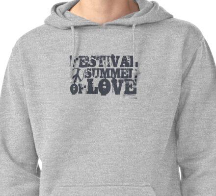 Festival Summer of Love Pullover Hoodie