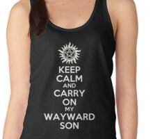 Keep Calm My Wayward Son Women's Tank Top
