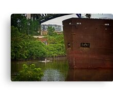 Rolling down the Cuyahoga Canvas Print