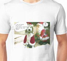 The Christmas Dog - Holiday Card - Politician  Unisex T-Shirt