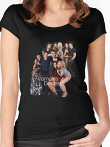 TVD Cast Women's Fitted Scoop T-Shirt