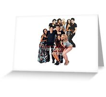 TVD Cast Greeting Card
