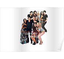 TVD Cast Poster
