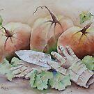 Pumpkin Harvest by Bobbi Price