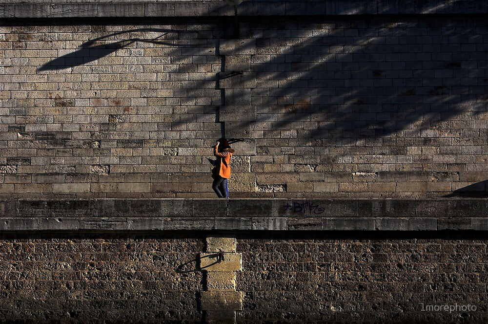 Little Orange Riding Hood and the Angry Shadow ..... by 1morephoto