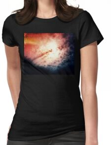 Holy clouds Womens Fitted T-Shirt