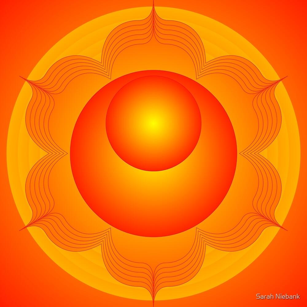 Mandala  Brahma  Second Chakra by Sarah Niebank