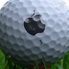 Apple golf ball iPhone 5 case by Jnhamilt