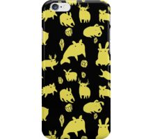 Weebeasts (yellow) iPhone Case/Skin