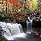 Dual waterfalls by Robert Wirth