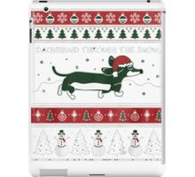 Dog Face ,Gifts For People Who Love Dogs, Dachshund Products,dachshund and friends,dachshund products,,dachshund through the snow,dachshund xmas iPad Case/Skin