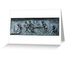 Fresco - WW II Memorial, Washington, D.C. Greeting Card