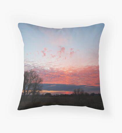 Pastel Twilight Throw Pillow