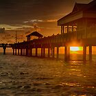 Pier 60 sunset in HDR by Robert Wirth